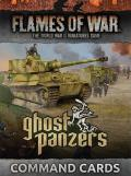 Flames of War - German Ghost Panzers Command Cards (46)