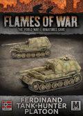 15mm WW2 German Ferdinand Tank-Hunter Platoon (2)