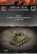 15mm WW2 German Grille 15cm Gun Platoon
