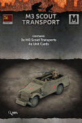 15mm WW2 Russian M3 Scout Transports (3)