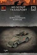 15mm WW2 Russian M3 Scout Transports (3)