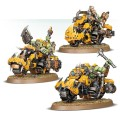 Space Orks - WARBIKER MOB