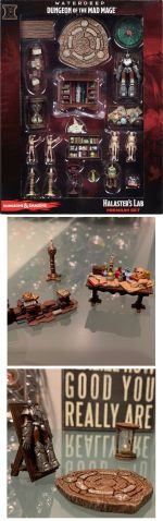 D&D Miniatures - Icons of the Realms - Waterdeep - Dungeon of the Mad Mage - HALASTERS LAB Premium S