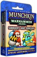 Munchkin Warhammer 40.000 - SAVAGERY AND SORCERY Expansion