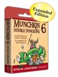 MUNCHKIN 6: DOUBLE DUNGEONS Expansion Expanded Edition