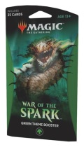 MTG - War of the Spark - GREEN Theme Booster Pack