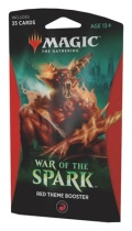 MTG - War of the Spark - RED Theme Booster Pack