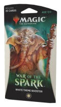 MTG - War of the Spark - WHITE Theme Booster Pack
