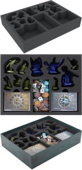 Warhammer - Feldherr BJ02 Foam Tray Set for Warhammer Underworlds: Nightvault Core Game Box