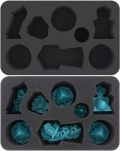 Warhammer - Feldherr HSMEHC060BO Foam Tray for Warhammer Underworlds: Nightvault - Arcane Hazards
