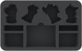 Warhammer - Feldherr HSMENF050BO Foam Tray for Warhammer Underworlds: Nightvault - Ylthari's Guardia