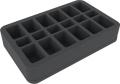 Feldherr HS050BF01BO 50 mm Foam Tray - 18 Compartments