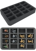 Feldherr HS040BF05BO Foam Tray with 16 Compartments