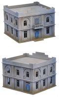 1/72 Scenery - North Africa Colonial Administration Building/Hotel