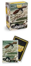 KÁRTYAVÉDŐ / DECK PROTECTORS - Dragon Shield Classic Art Sleeves - Hunters in the Snow (100) Ltd. Ed
