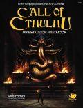 Call of Cthulhu 7th Ed. - INVESTIGATOR HANDBOOK (HC)