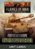 Flames of War - German Fortress Europe Unit Cards (49)