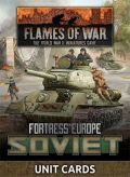 Flames of War - Soviet Fortress Europe Unit Cards (53)