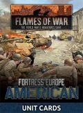 Flames of War - US Fortress Europe Unit Cards (27)