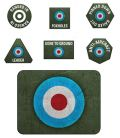 Flames of War - British Late War Tokens (20) & Objectives (2)