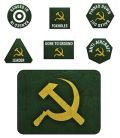 Flames of War - Russian Late War Tokens (20) & Objectives (2)