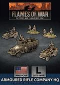 15mm WW2 US Armored Rifle Company HQ (Plastic)