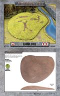 15mm WW2 Scenery - Large Hill (1) - 15mm/30mm