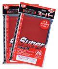 KÁRTYAVÉDŐ / DECK PROTECTORS - KMC - Standard Sleeves - Super Metallic Red (80)