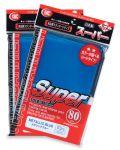 KÁRTYAVÉDŐ / DECK PROTECTORS - KMC - Standard Sleeves - Super Metallic Blue (80)