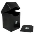 KÁRTYATARTÓ DOBOZ / DECK BOX - Blackfire Deck Holder Vertical - Black (100+)