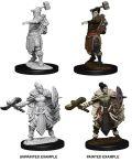 D&D Nolzur's Marvelous Minis - Half-Orc Female Barbarians (2)