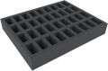 Feldherr FS050BO 50 mm Full-Size Foam Tray with Base - with 36 Compartments