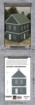 15mm WW2 Scenery - European House - Munich (2019)