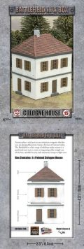 15mm WW2 Scenery - European House - Cologne (2019)