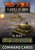 Flames of War - German D-Day Command Cards (46)