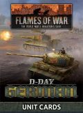 Flames of War - German D-Day Unit Cards (70)