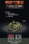 15mm WW2 German Grille 15cm Gun Platoon (2)