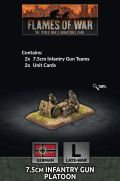 15mm WW2 German 7.5cm Infantry Gun Platoon (2)