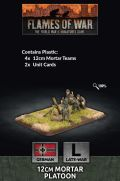 15mm WW2 German 12cm Mortar Platoon (6) (Plastic)