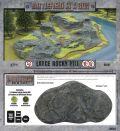 15mm WW2 Scenery - Large Rocky Hill