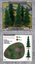 15mm WW2 Scenery - Large Pine Wood (5)
