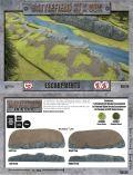 15mm WW2 Scenery - Escarpments