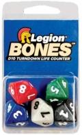5D10 Countdown Dice - Legion - Bones