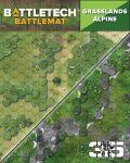 Battletech - MAP PACK: GRASSLANDS/ALPINE (Neoprene)