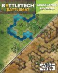 Battletech - MAP PACK: GRASSLANDS/SAVANNAH (Neoprene)