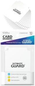 ELVÁLASZTÓK / DIVIDERS * ULTIMATE GUARD CARD DIVIDER Standard * White (10)