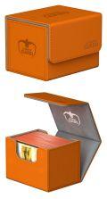 KÁRTYATARTÓ DOBOZ / DECK BOX - Ultimate Guard - DECK CASE Sidewinder 100+ Standard XenoSkin Orange