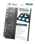 18-POCKET ULTIMATE GUARD MINI AMERICAN SUPREME PAGES BLACK [18 zsebes kártyaberakó] (10)