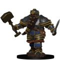 D&D Icons of the Realms Premium Miniatures - Dwarf Male Fighter