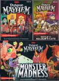 D&D - DUNGEON MAYHEM Card Game BUNDLE with 2 Expansions (2-6)